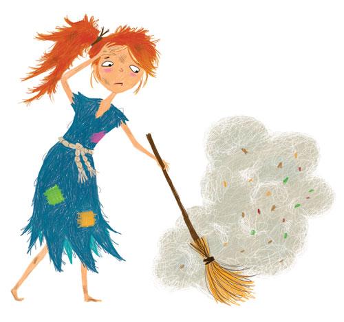 Cinderella in rags (maxinelee.com)